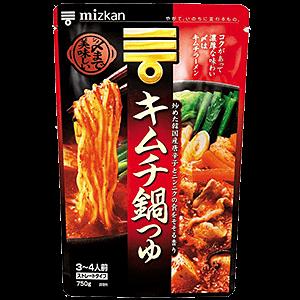 〆まで美味しいキムチ鍋つゆ