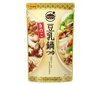 きのこ豆乳鍋つゆ