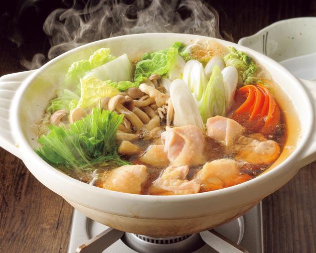 白菜しょうゆ鍋