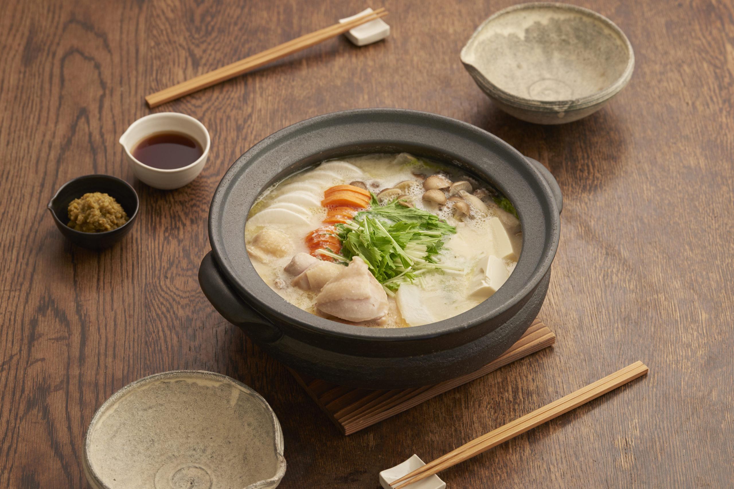発酵スープの菌活水炊き鍋