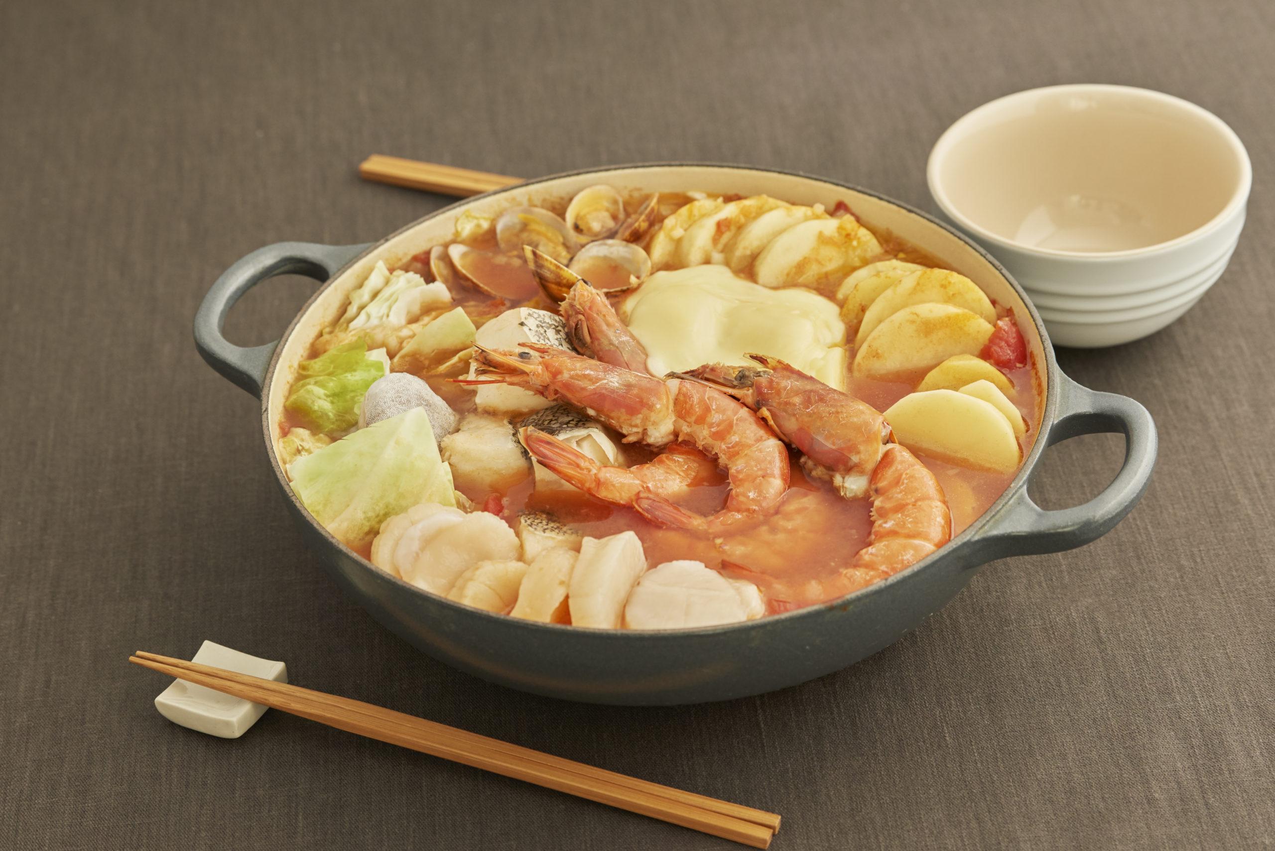 和風海鮮ブイヤベース鍋