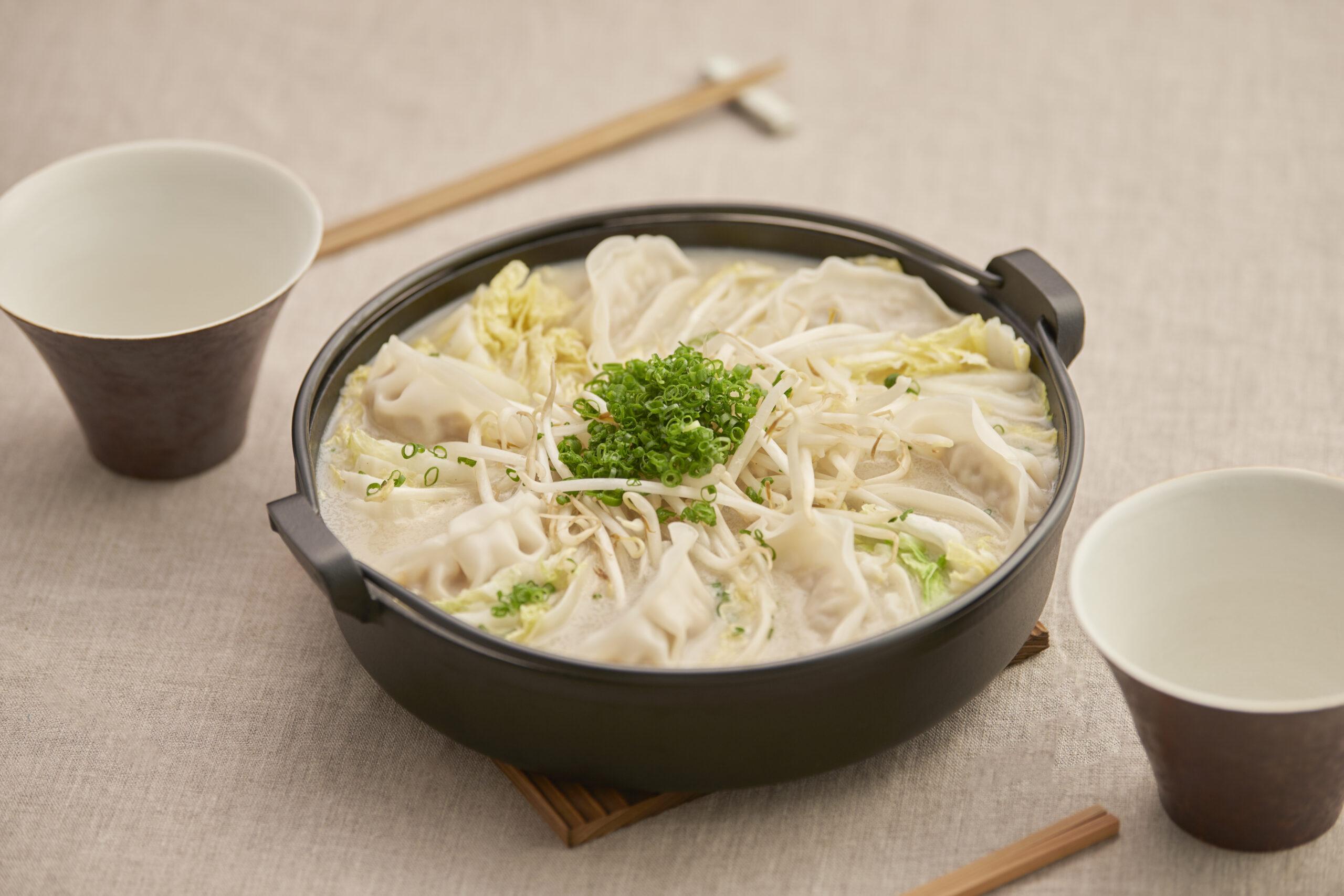 白菜餃子ミルフィーユ鍋