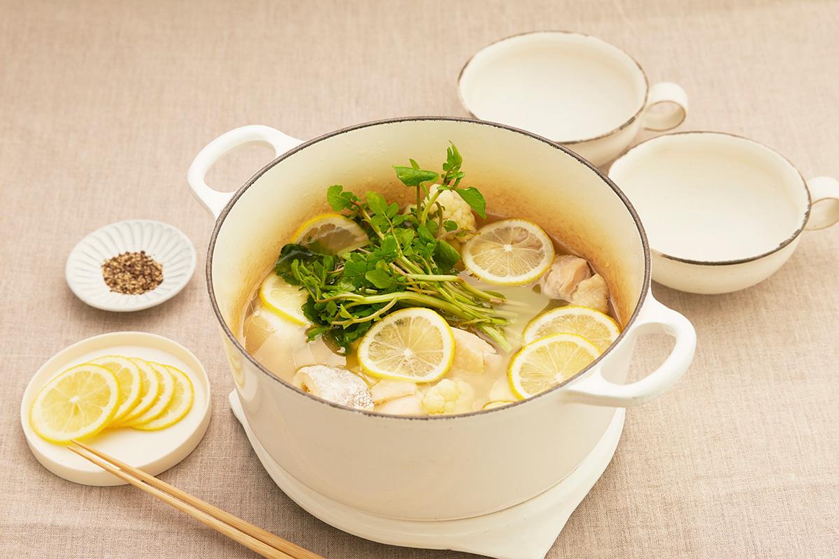 レモン塩麹鍋