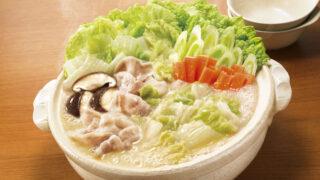 白菜鍋 (鶏がら白湯しお味)